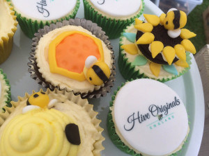 Bee inspired cakes