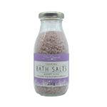 Bottle of bath salts